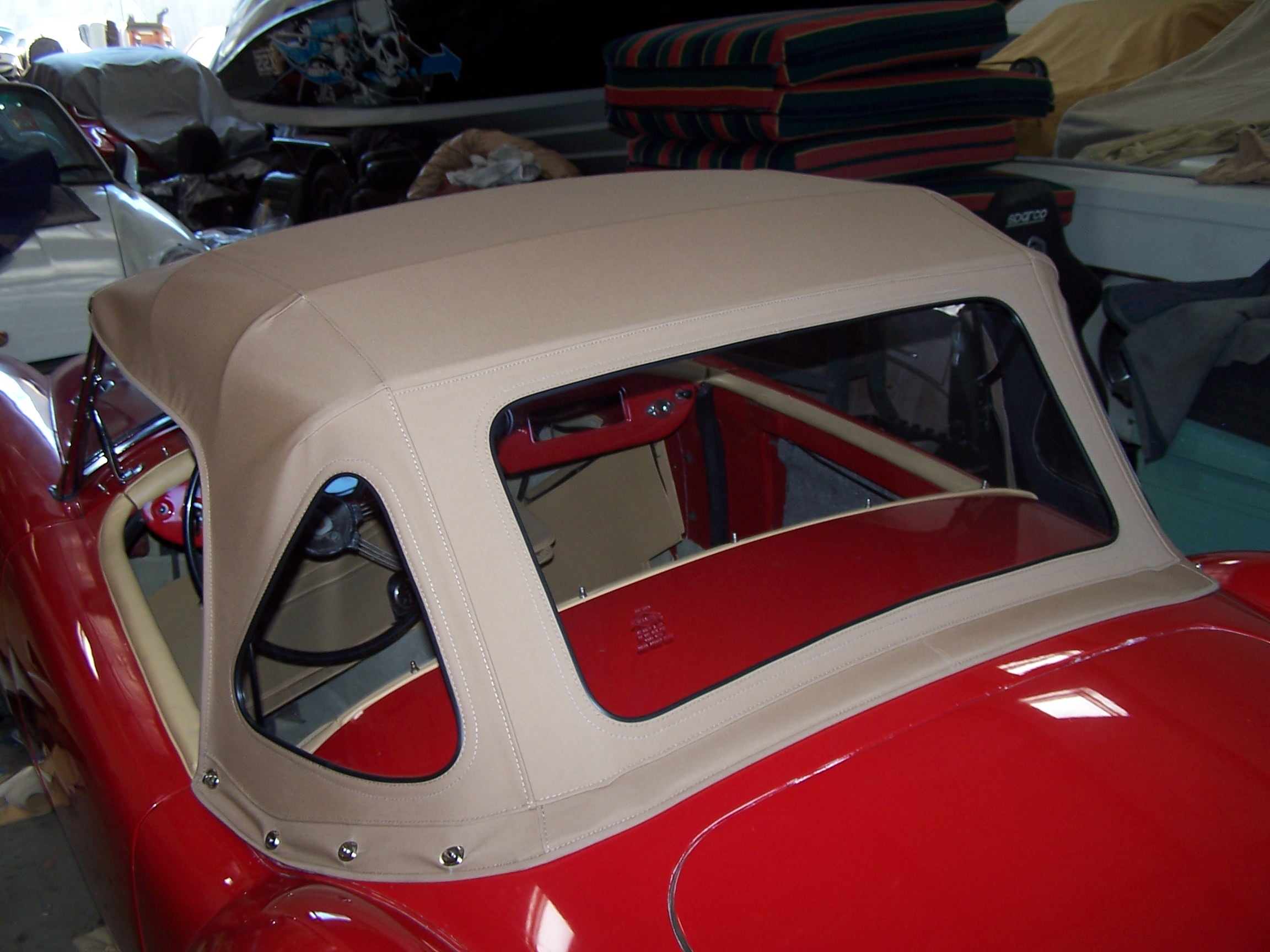 Mg Convert Top Auto Upholstery By Aj Northridge Ca