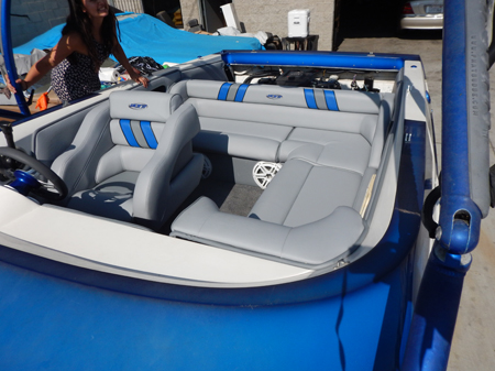 Custom Boat Interior After Before Auto Upholstery By Aj Northridge Ca