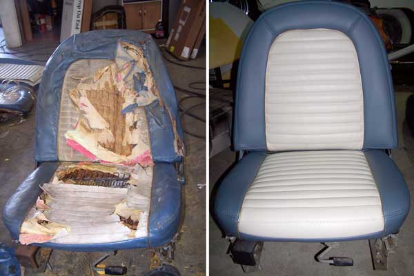 Auto Interior Repairs | AUTO UPHOLSTERY BY AJ - Northridge CA
